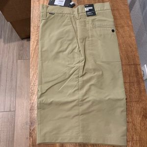 NWT Hurley Nike Dri-Fit regular fit Chino Shorts